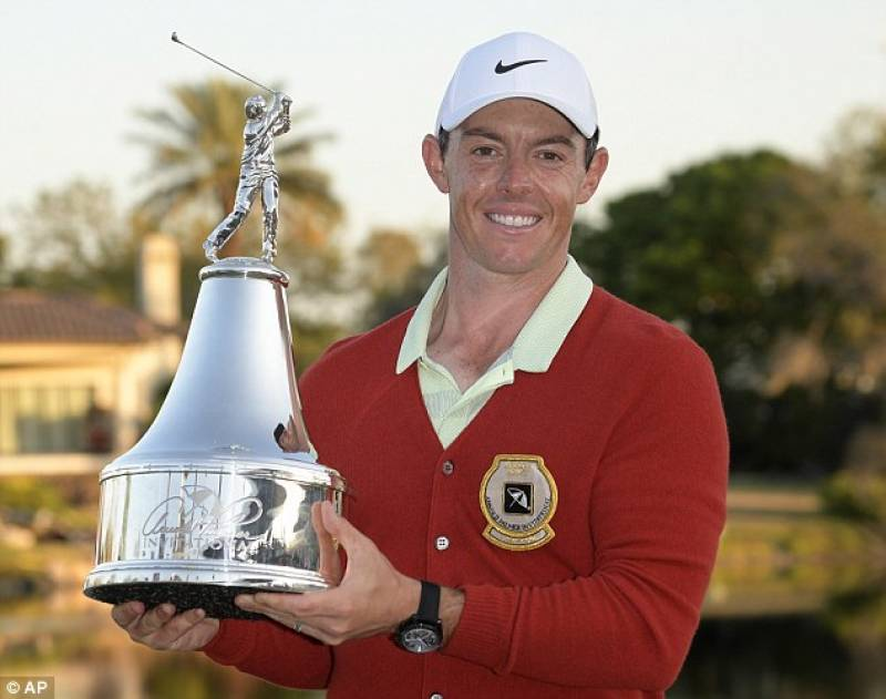 McIlroy fires a 64 to win Arnold Palmer Invitational