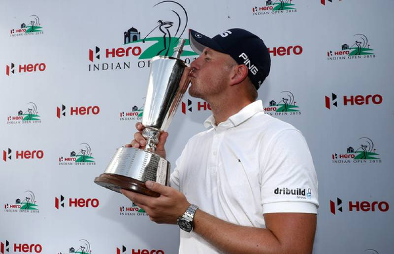 Wallace playoff joy at Hero Indian Open